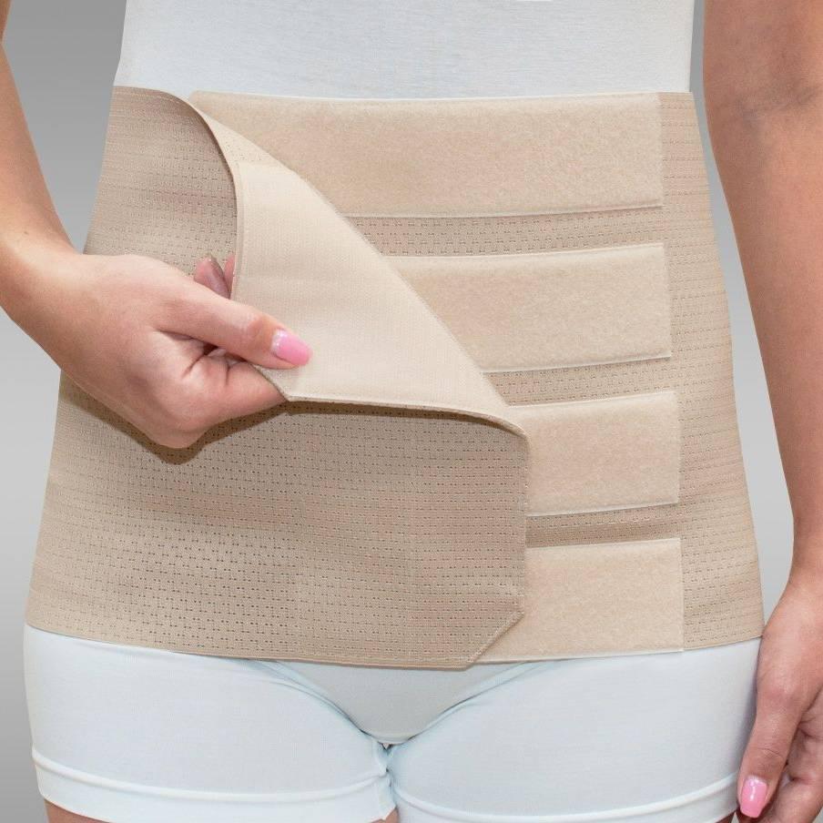 Ношение бандажа после кесарева сечения: показания и противопоказания
