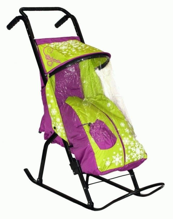 Детские санки-коляски: возраст использования и рейтинг самых лучших моделей - все о болезнях
