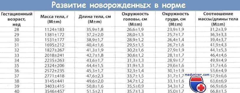 Норма билирубина у новорожденных: таблица по дням и месяцам