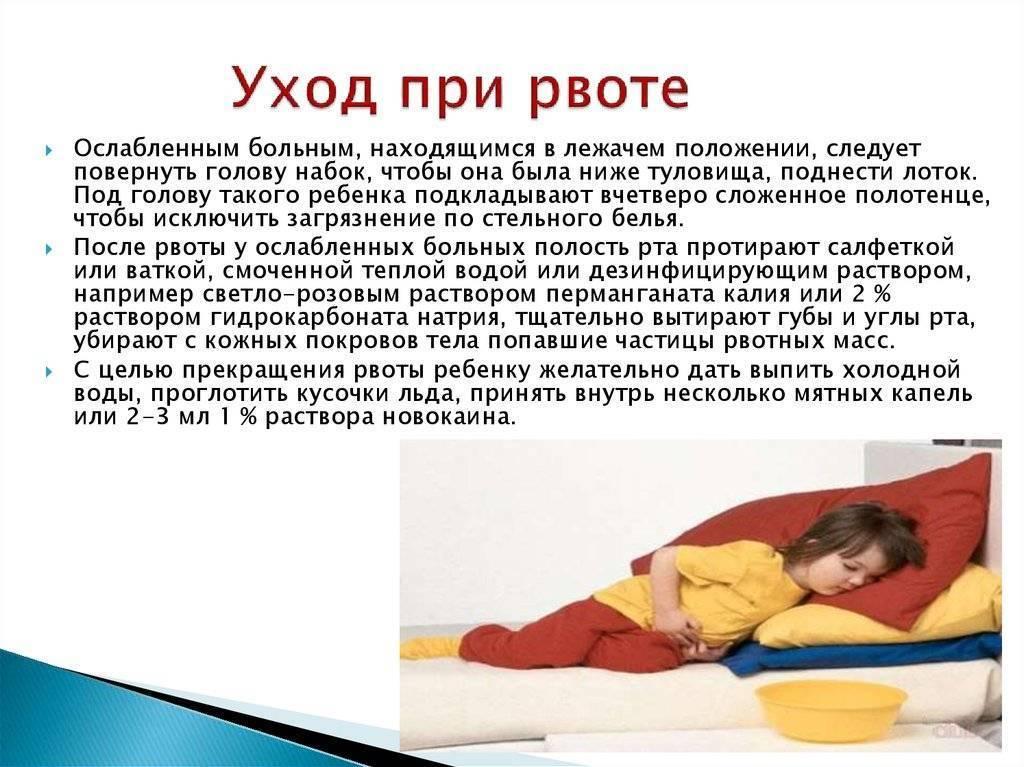 Как остановить рвоту у ребенка в домашних условиях – первая помощь