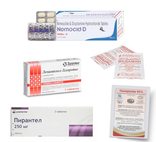Препараты от глистов широкого спектра действия для лечения человека