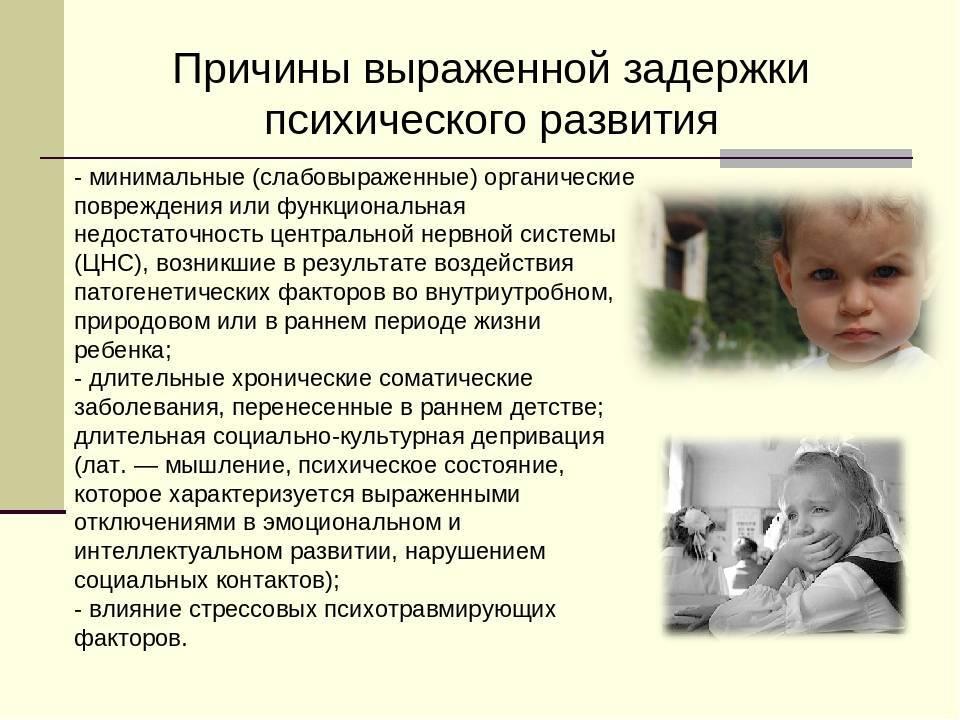 Задержка психоречевого развития детей с элементами аутизма