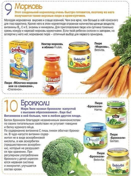 Как вводить морковь в прикорм и со скольки месяцев можно давать ребенку морковные пюре и сок: польза моркови