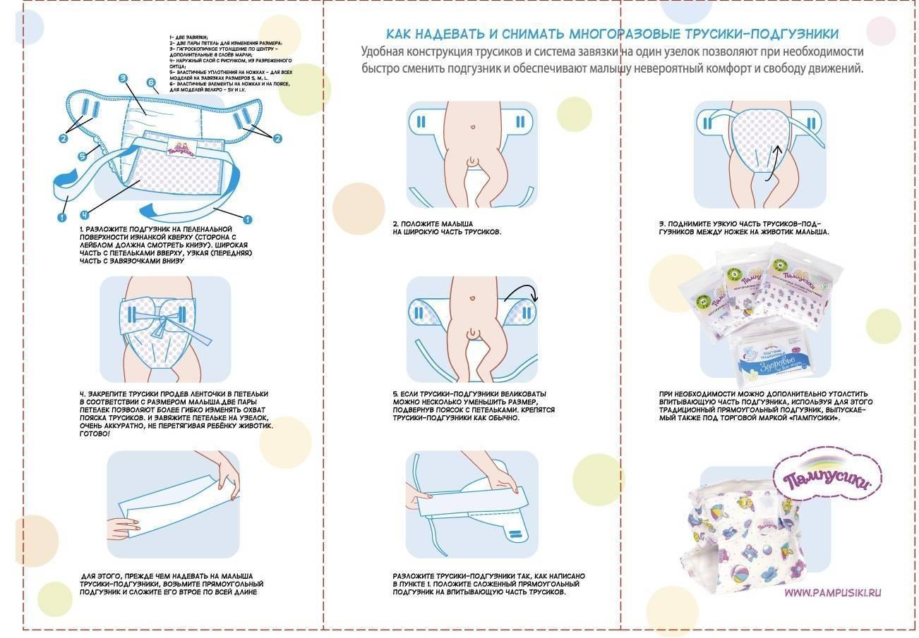 Как часто менять подгузник новорожденному и как правильно