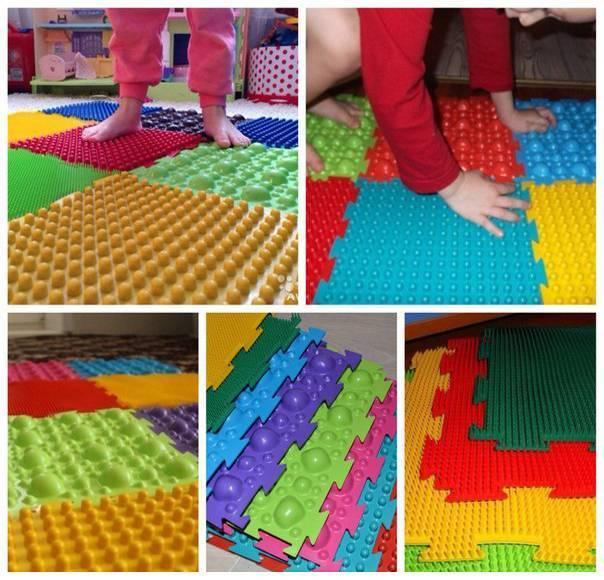 Несколько вариантов изготовления ортопедического коврика своими руками