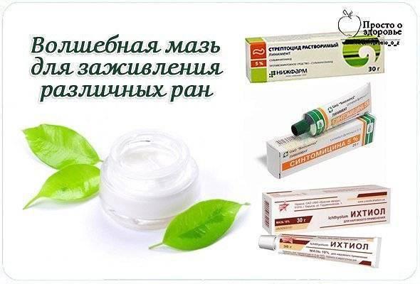 Мазь для заживления ран у детей: средства для обработки ссадин на коже | препараты | vpolozhenii.com
