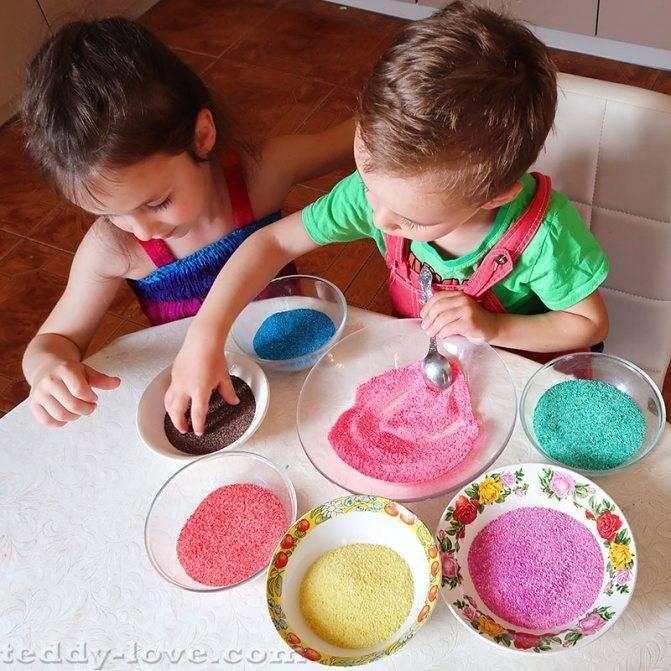 Технология самостоятельной покраски щебня