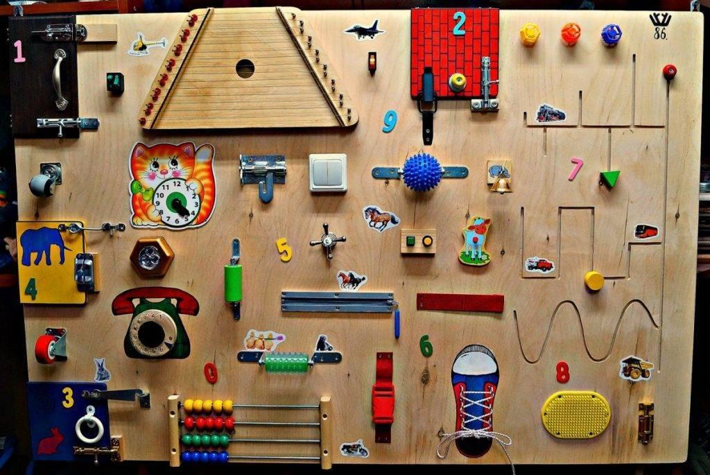 Бизиборд своими руками для девочек: 90 фото и видео подробной инструкции как и из чего изготовить бизиборд