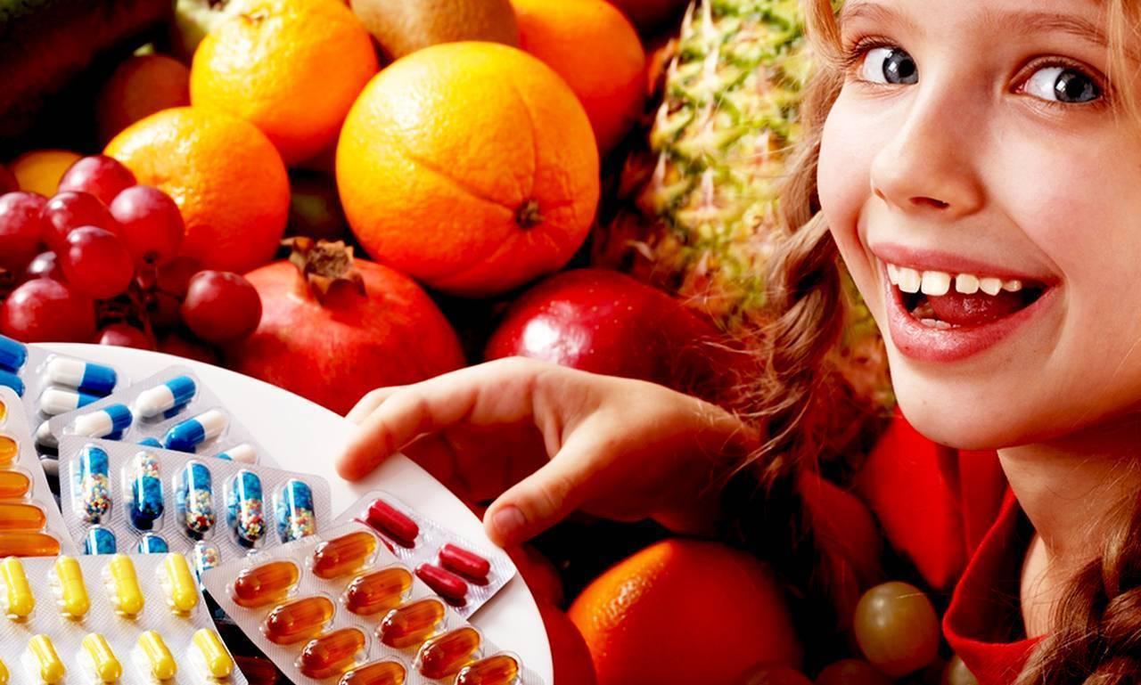 Какие витамины необходимы для детей подросткового возраста