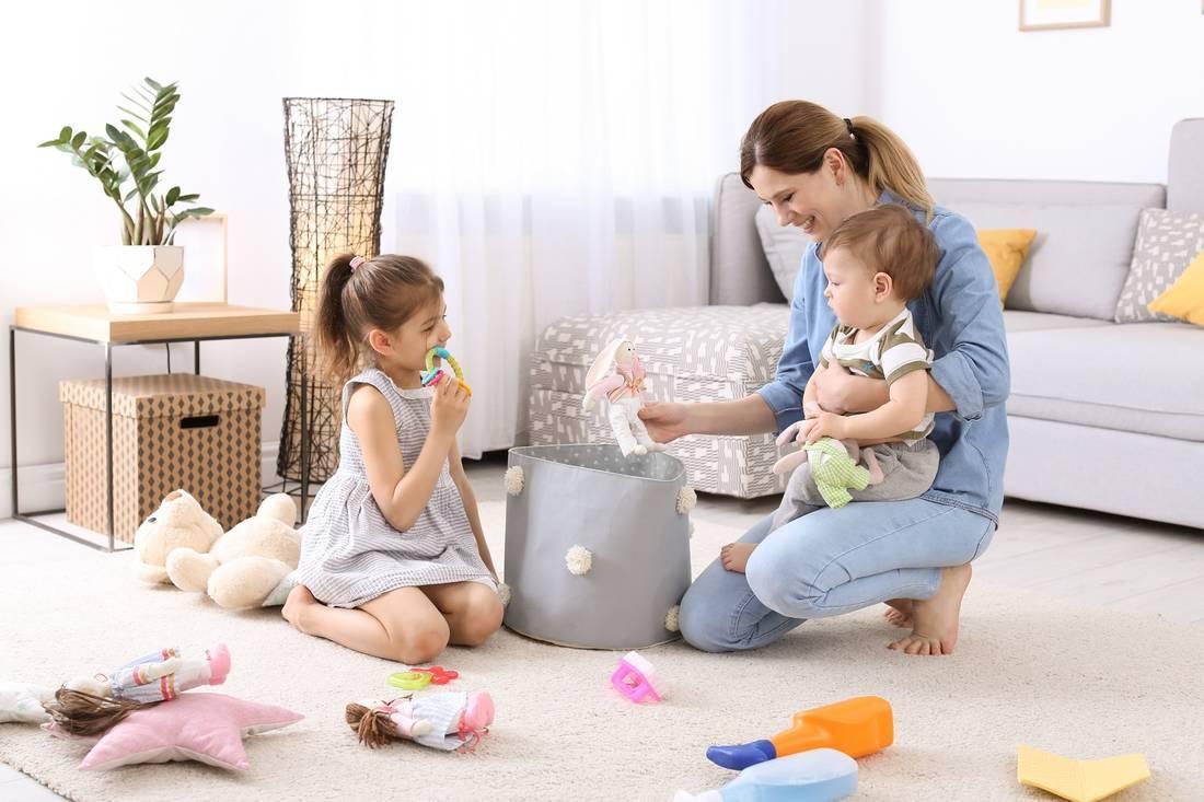 Креативные способы побудить ребенка убрать в своей комнате