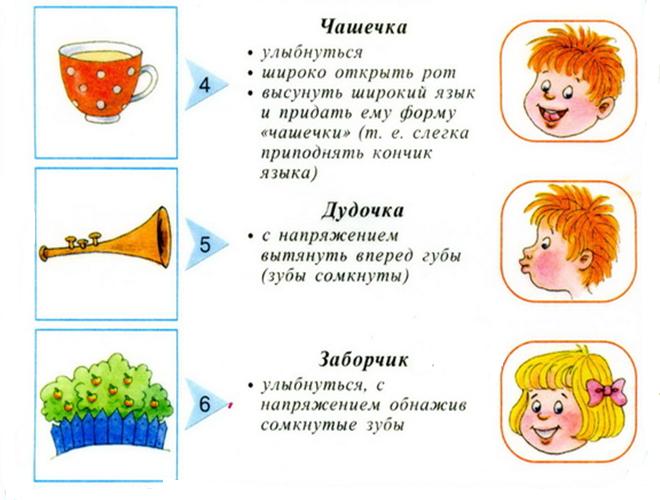 Логопедические занятия для детей 5-6 лет дома: упражнения, задания в картинках