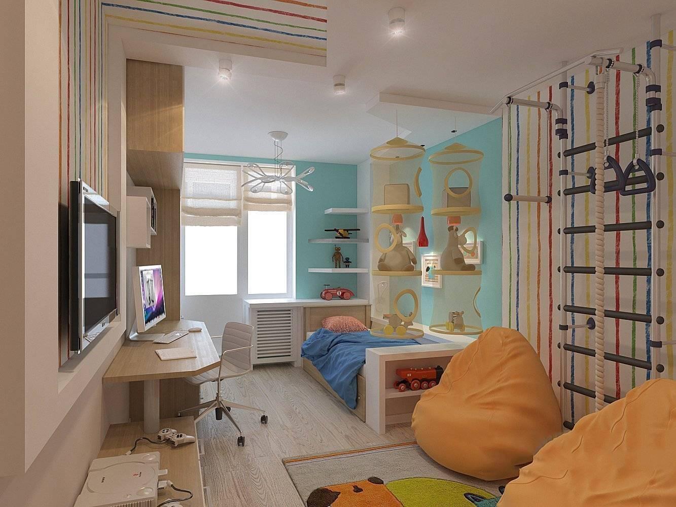 Детская 10 кв. м. — стильные и необычные варианты современных интерьеров для детской (110 фото)