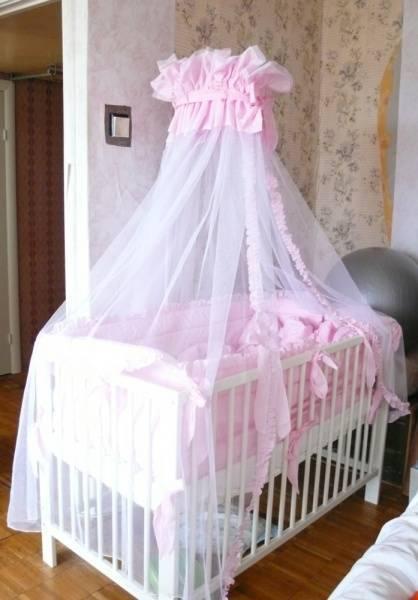 Как сшить балдахин на детскую кроватку мальчика и девочки: пошаговое руководство