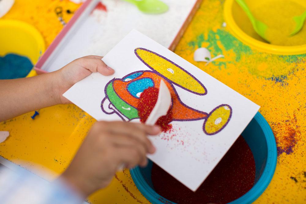Польза рисования песком для детей :: психология :: для родителей :: все о детях