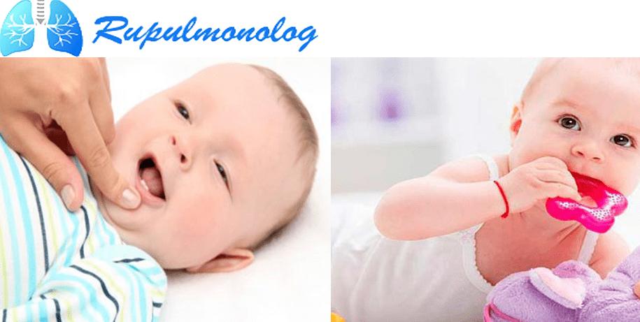 Нужно ли лечить кашель при прорезывании зубов у детей?