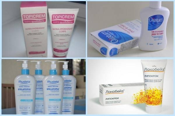 Недорогие эмоленты при атопическом дерматите для детей: список, цена, отзывы, где купить