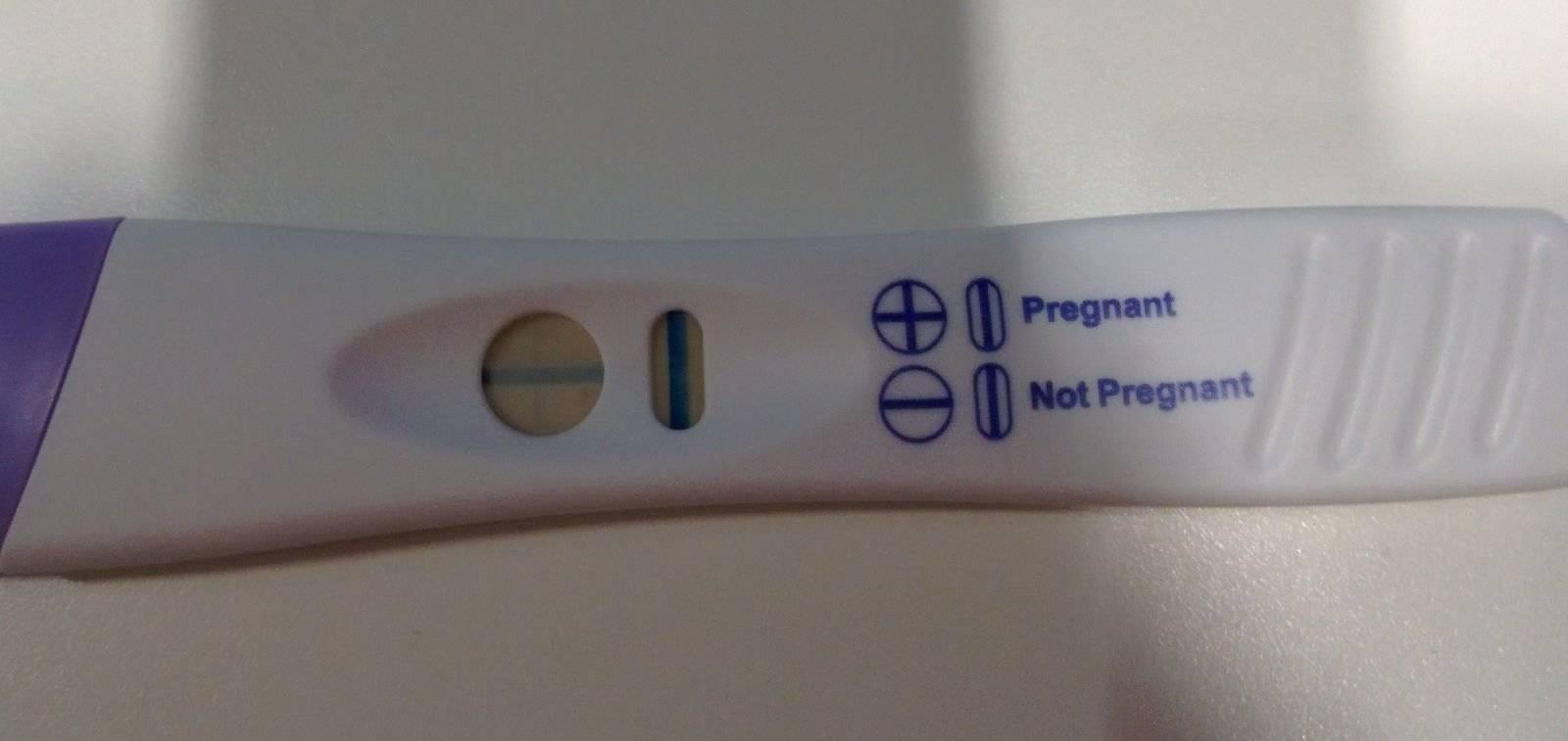 Может ли тест не диагностировать беременность при ее наличии?