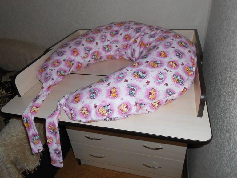 Как сшить подушку для кормления своими руками   мастер-классы по рукоделию