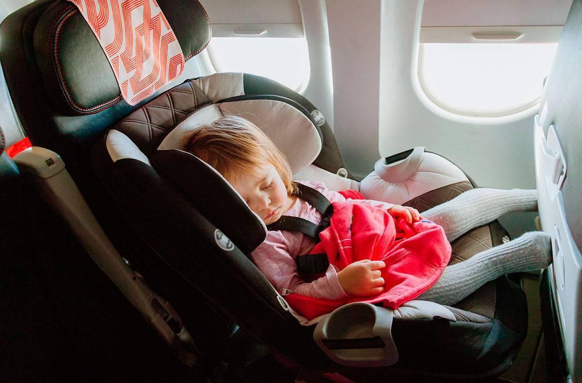 С какого возраста можно летать на самолете новорожденному