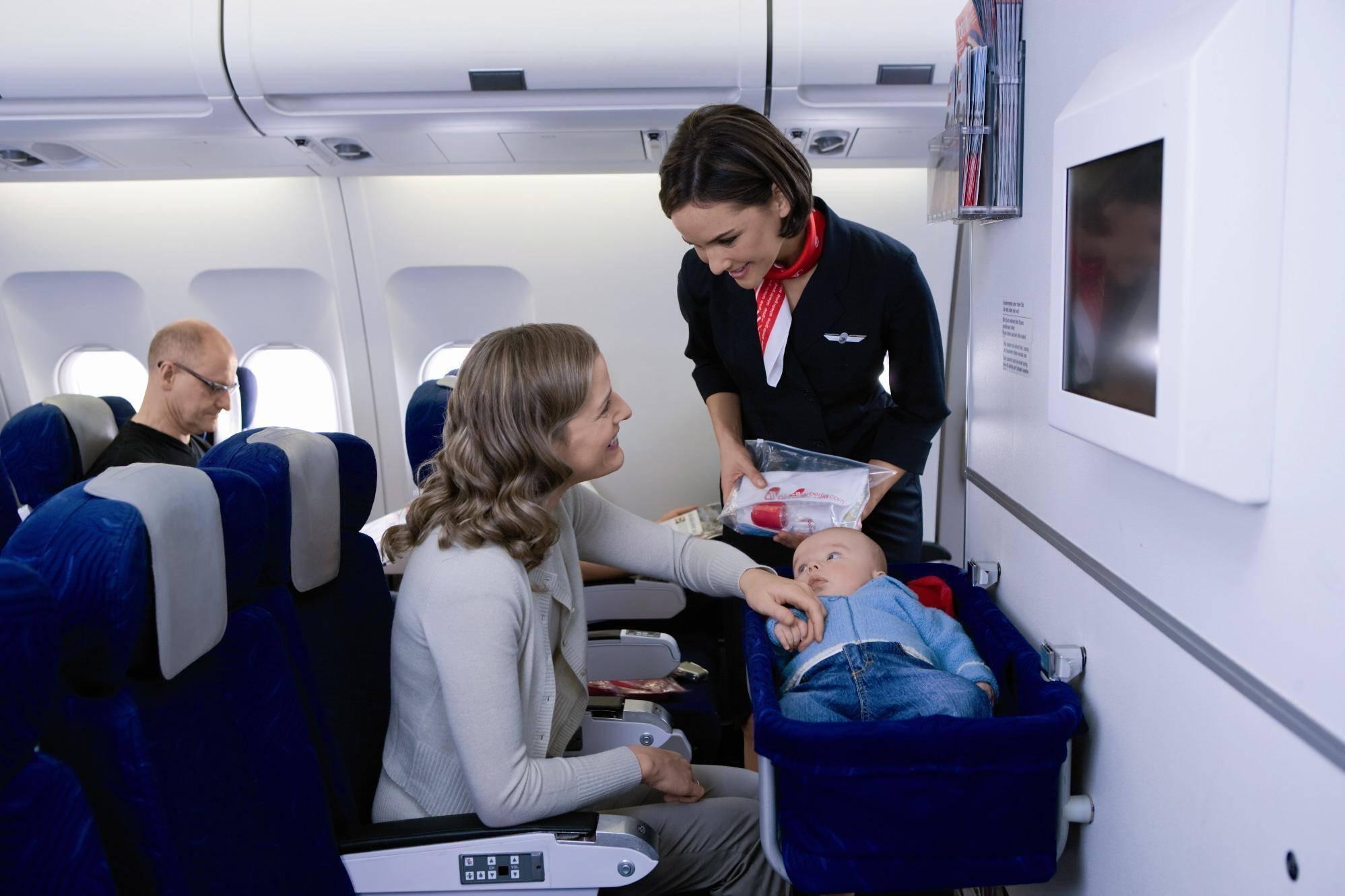 Перелет с грудничком на самолете | уроки для мам