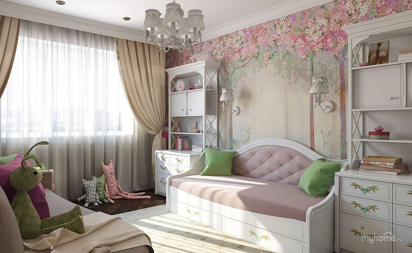 Дизайн комнаты в стиле прованс | 25 идей для создания интерьера