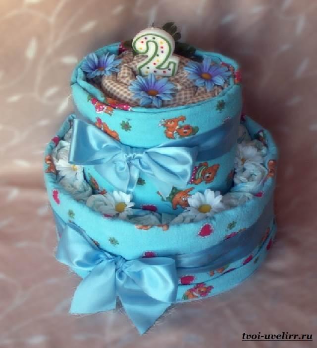 Как сделать торт из памперсов в подарок: пошаговый мастер-класс | сделано дома | яндекс дзен