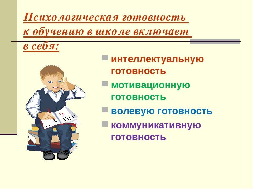 Психологическая готовность дошкольников к школьному обучению