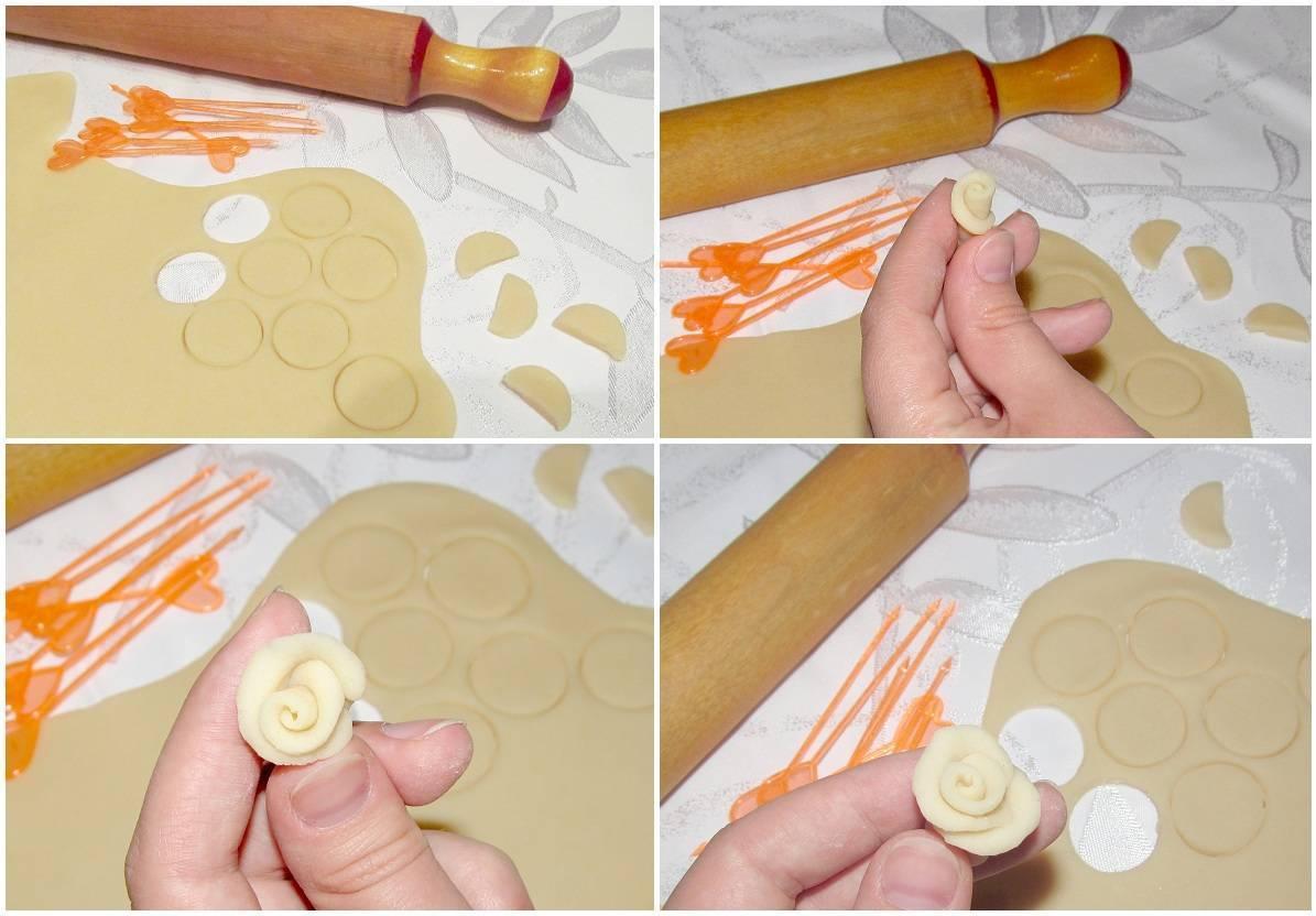 Фигурки из солёного теста для детей