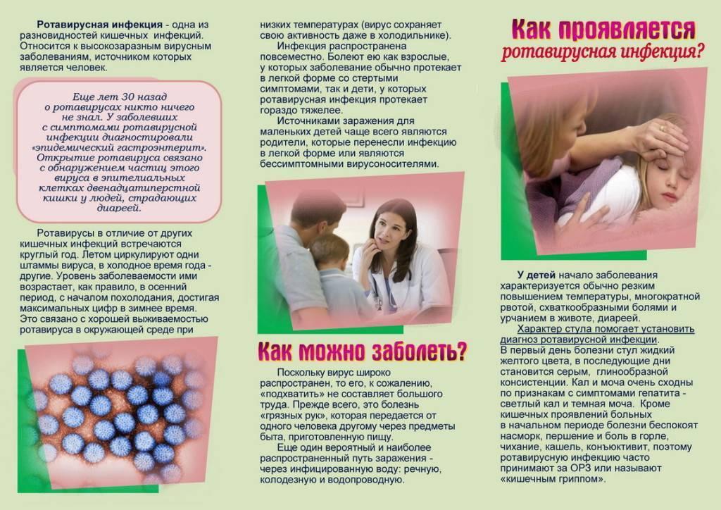Ротавирусная инфекция у детей, симптомы и лечение