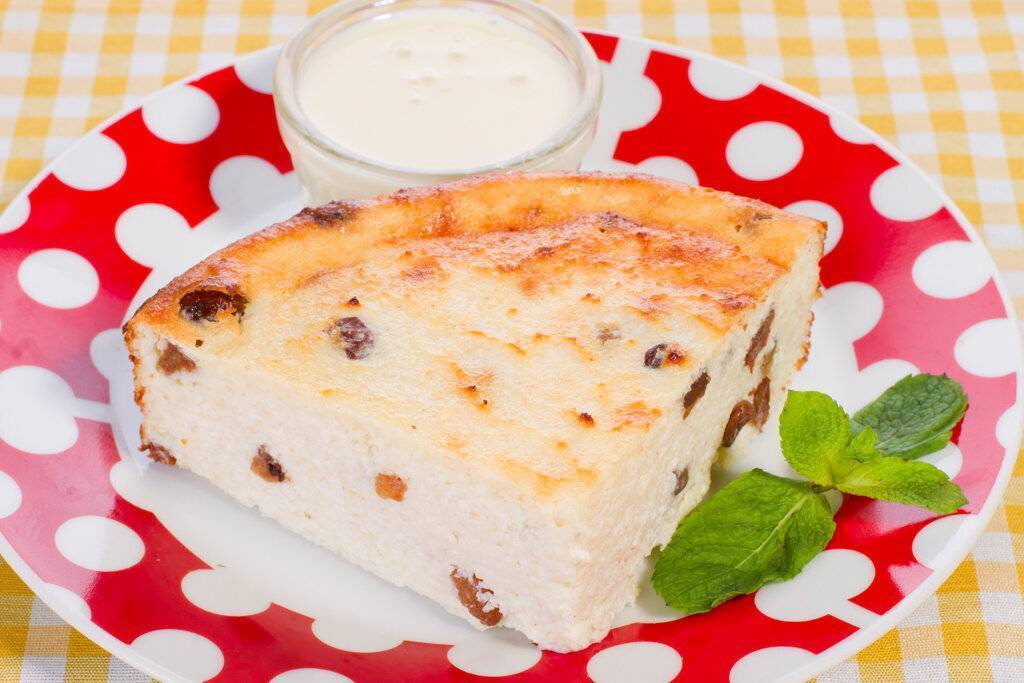 Творожная запеканка-пирог – кулинарный рецепт