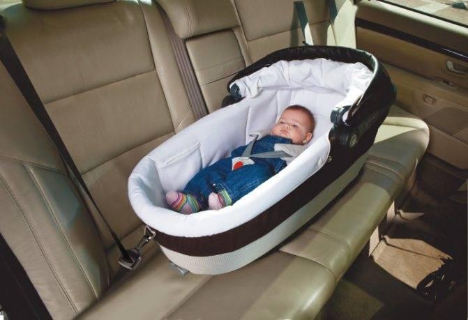 Правила перевозки детей на переднем сиденье