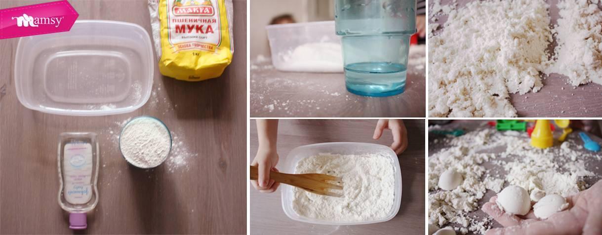 Кинетический песок своими руками – 7 простых пошаговых рецептов! кинетический песок своими руками – 7 простых пошаговых рецептов!