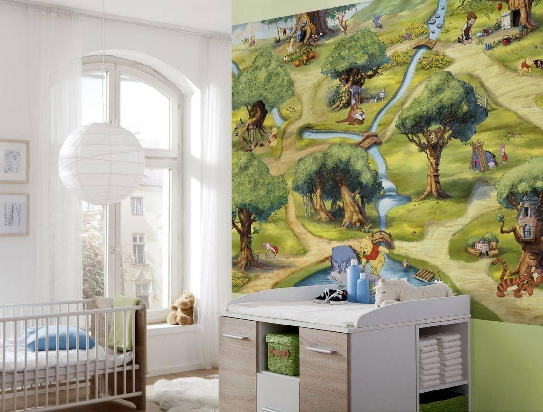 Современные тенденции для выбора обоев в детскую комнату