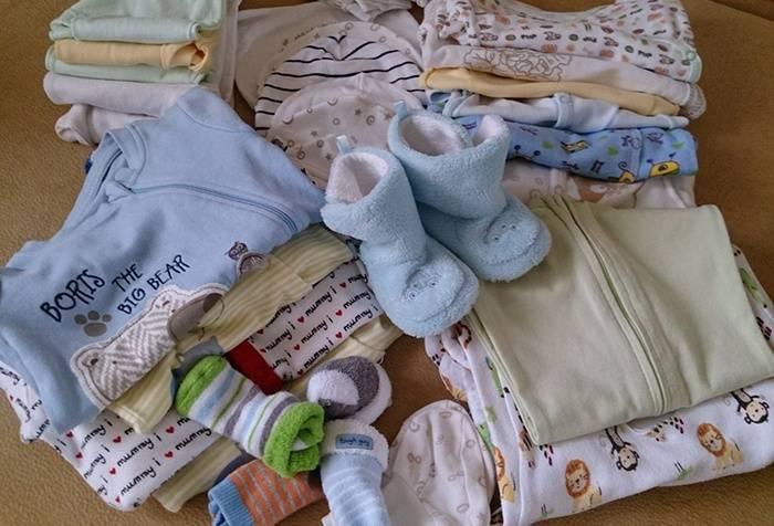 Список, что нужно купить для новорожденного ребенка