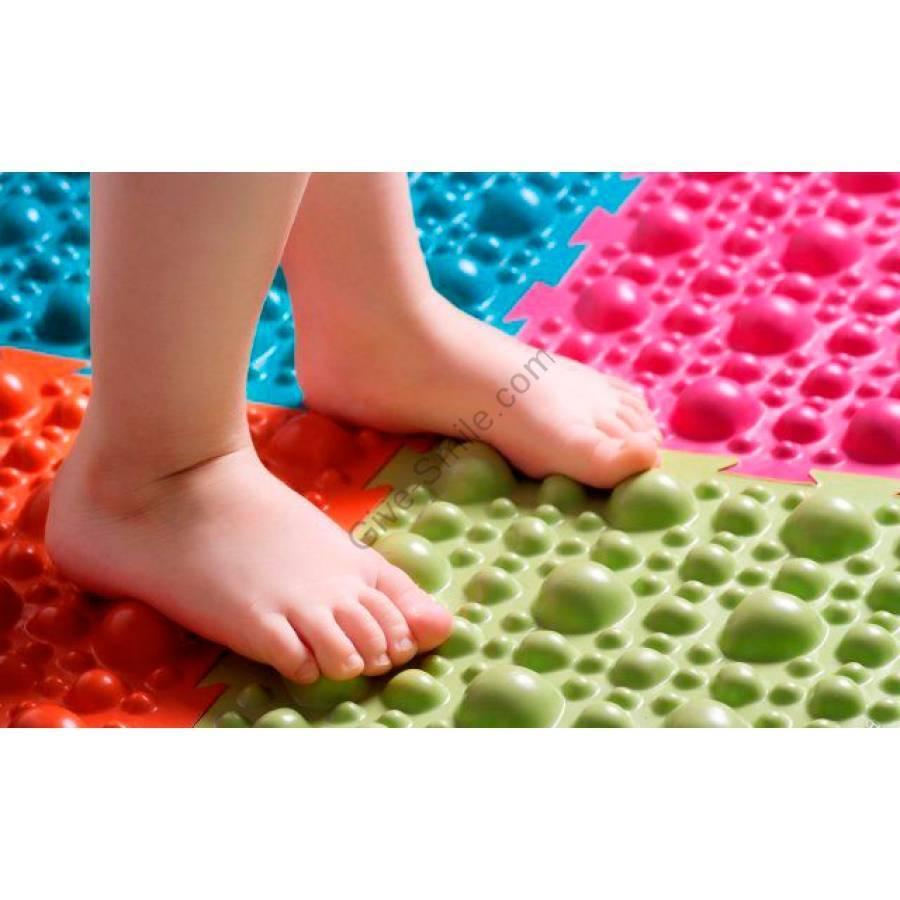 Коврик для детей от плоскостопия. массажный коврик – отличная профилактика плоскостопия у взрослых и детей
