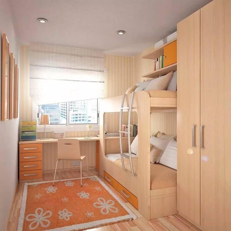 Детская комната в хрущевке — примеры дизайна (20 фото)