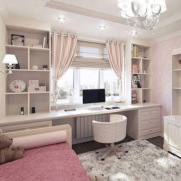 Комната для 12 летней девочки — варианты красивого оформления дизайна