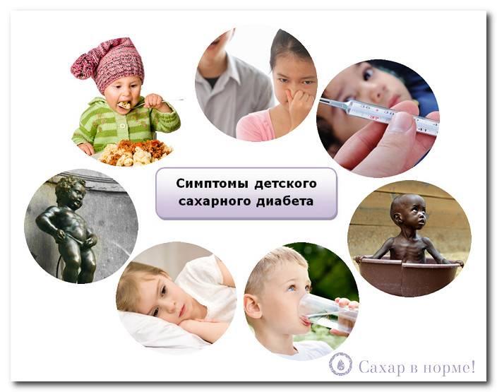 Сахарный диабет у детей - симптомы, признаки, причины, рекомендации и лечение