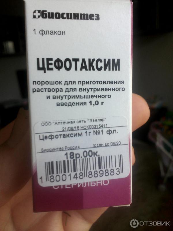 Какими таблетками можно заменить уколы цефотаксим. цефотаксим: инструкция по применению таблеток и уколов