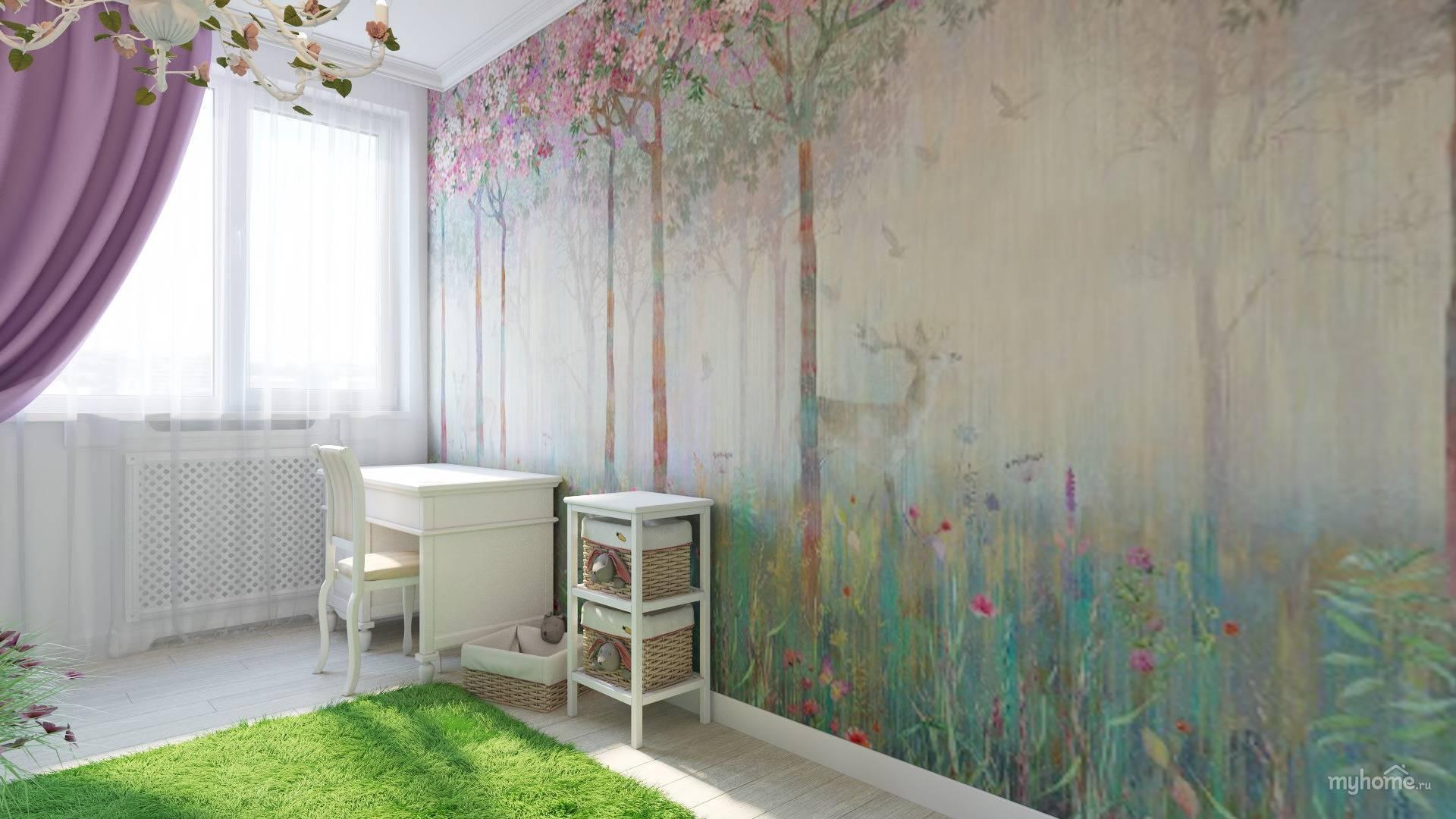 Использование виниловых обоев в интерьере: дизайн в ярких красках