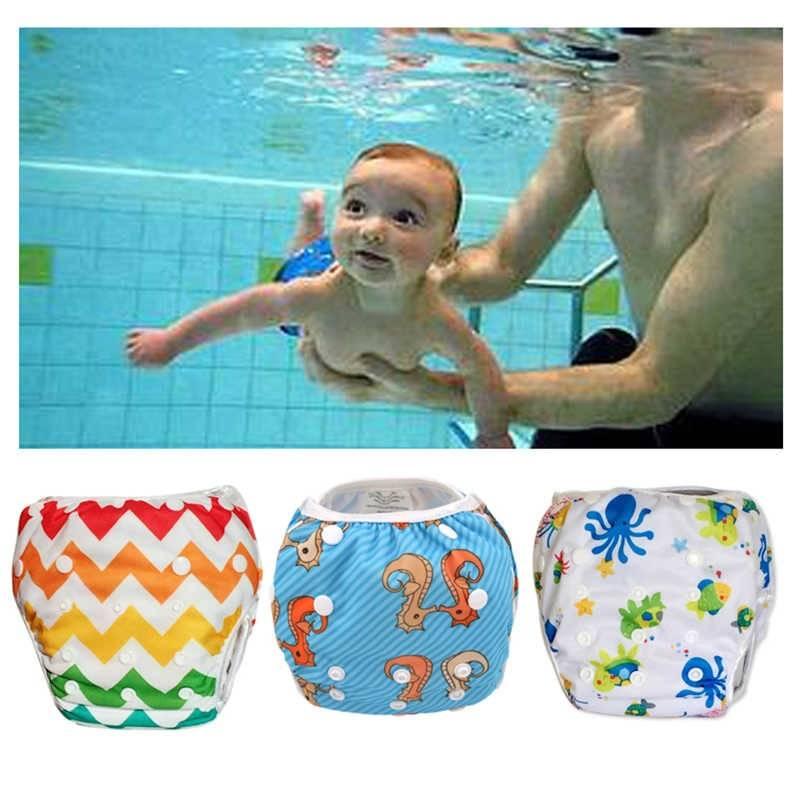 Подгузники для плавания в бассейне и водоеме: многоразовые и одноразовые