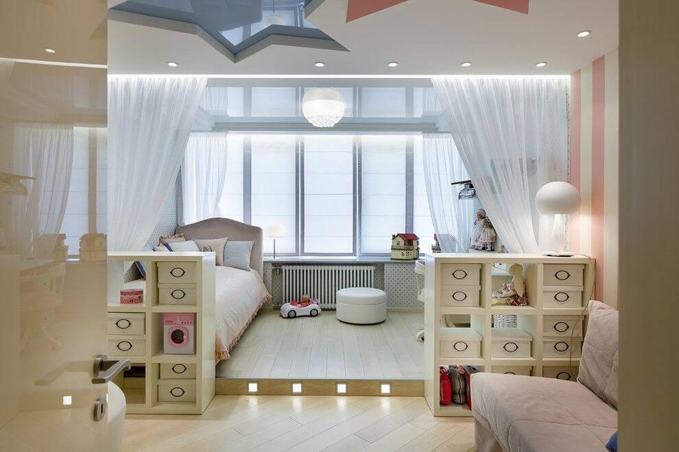 Однокомнатная квартира с ребенком: идеи организации пространства и дизайна интерьера однушки молодой семьи