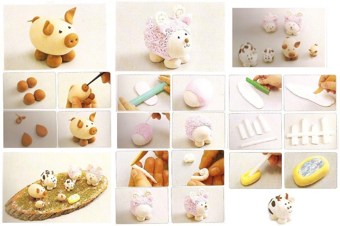 Фигурки из солёного теста для детей своими руками, мастер-классы