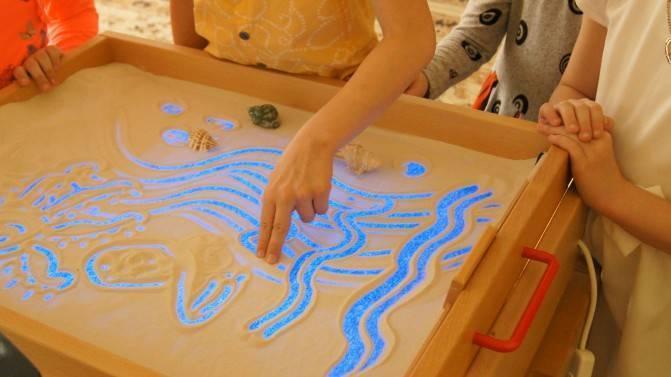 Песочная терапия для детей дошкольного возраста, игры, занятия