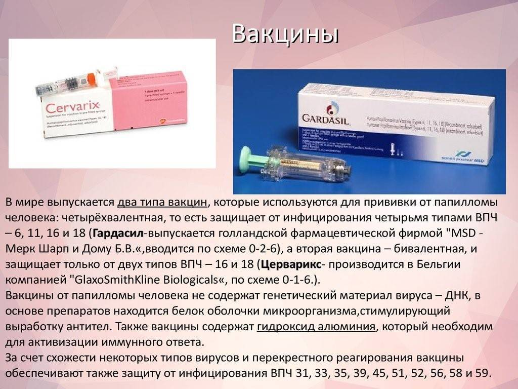 Прививка от впч (папилломы вируса человека): аргументы за и против вакцинации девочек