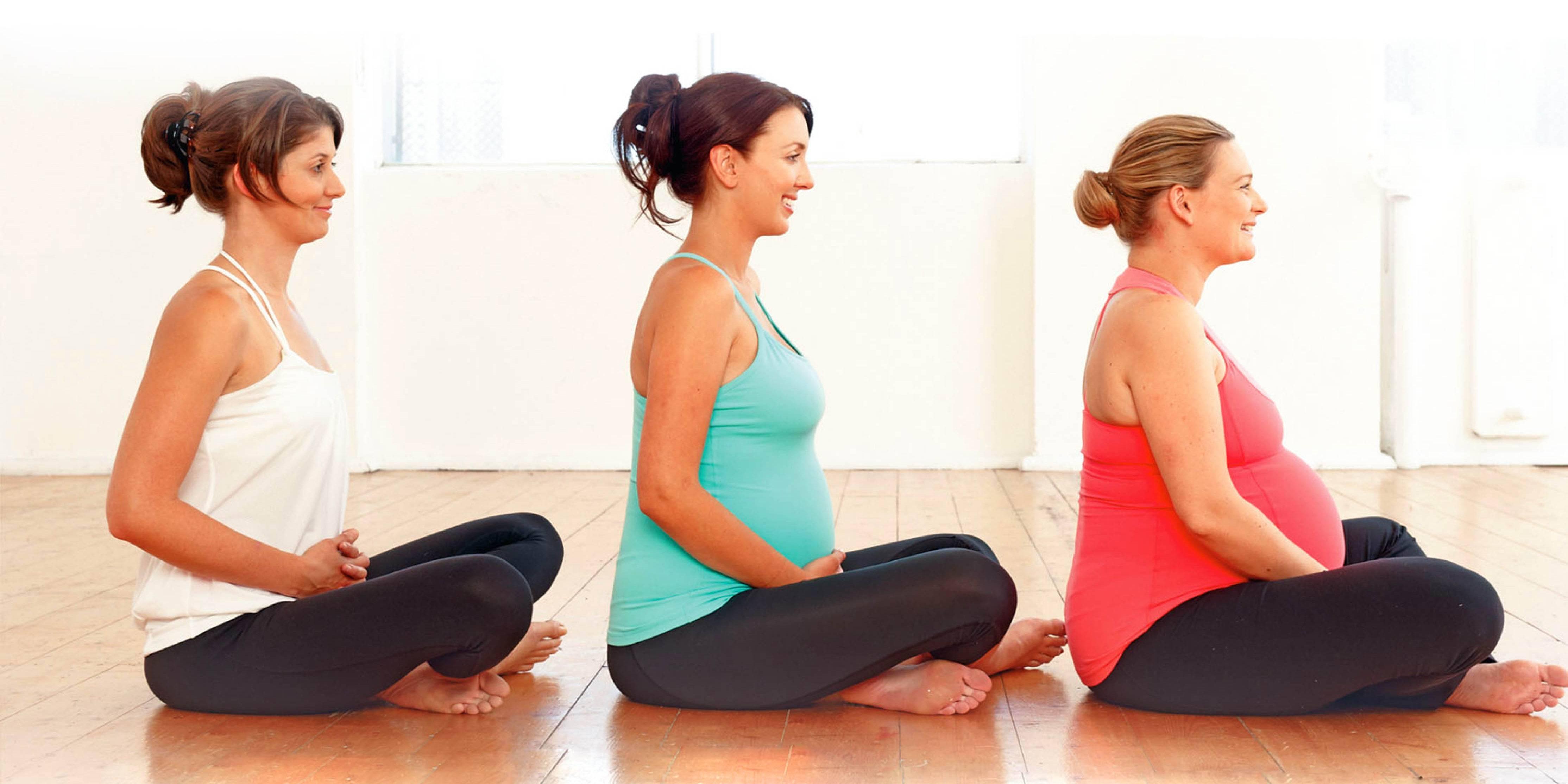 Йога при беременности для женщин