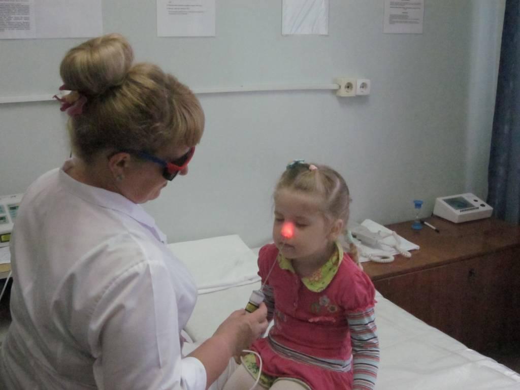 Лазеротерапия при аденоидах. преимущества и недостатки