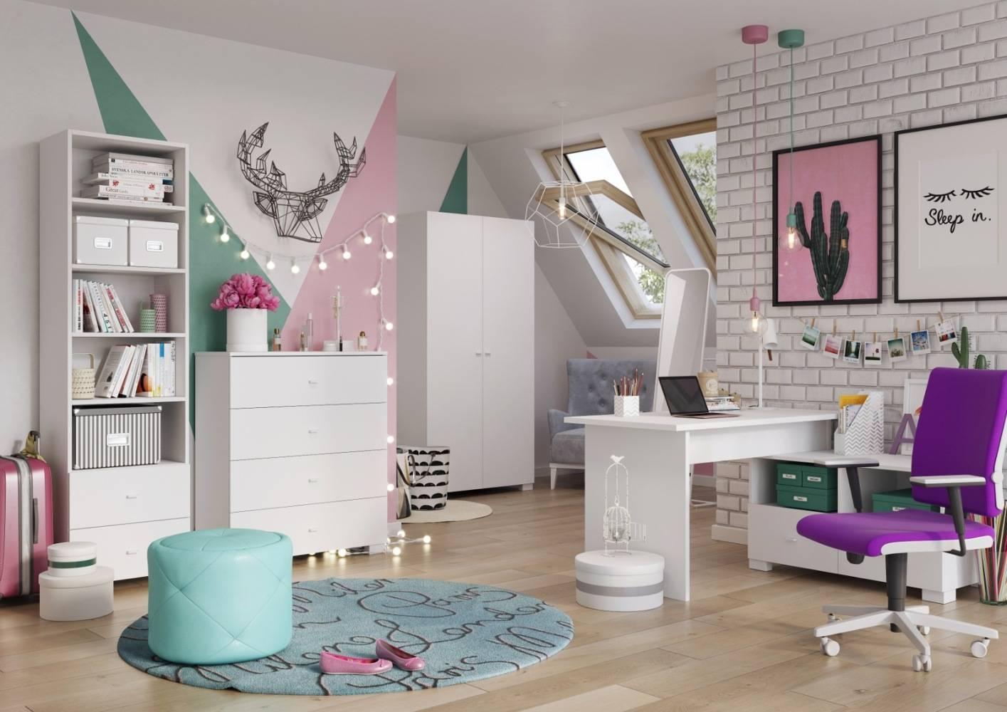 Рекомендации по выбору мебели в детскую комнату школьника