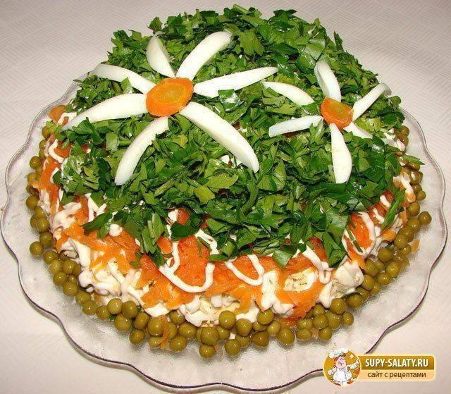 Салат на день рождения ребенка экзотика рецепт с фото - 1000.menu