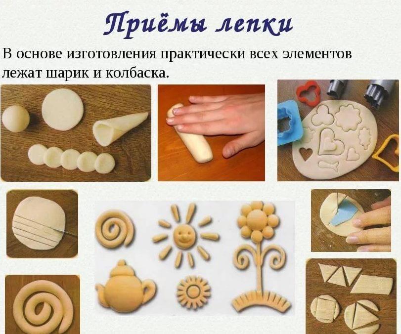 Тесто для лепки для детей: 10 рецептов соленого теста для изготовления своими руками